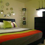 Piękna sypialnia w rozmiarze XS