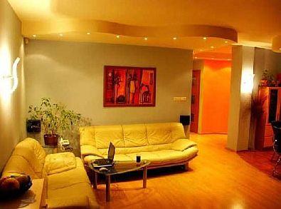 oświetlenie salonu