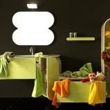 Oryginalne lustra łazienkowe