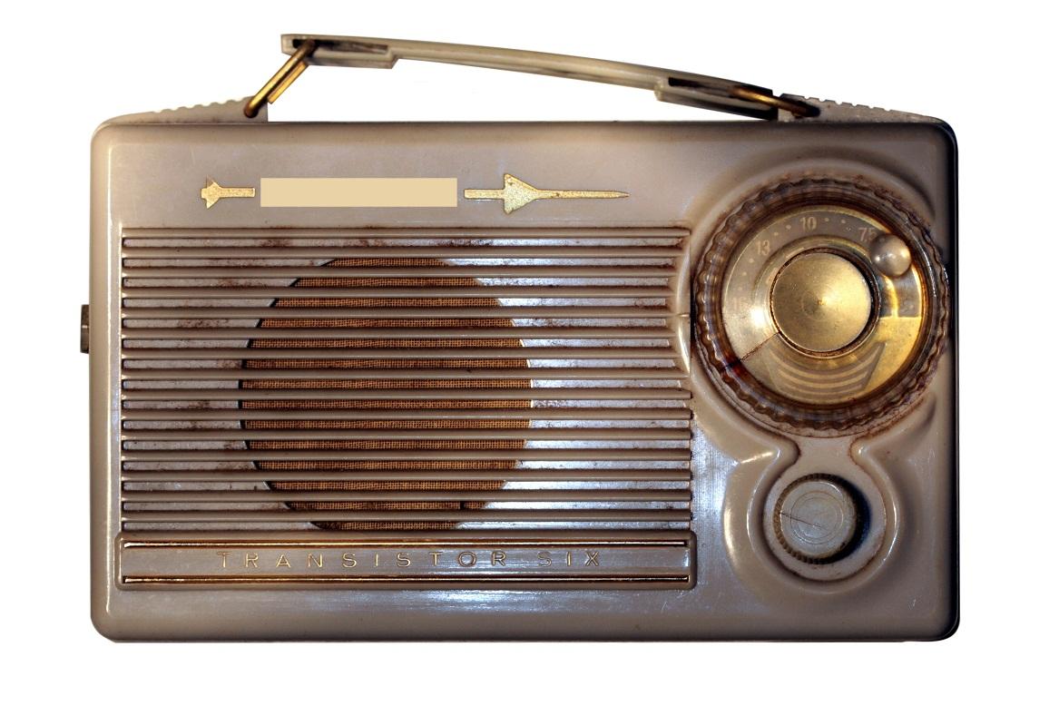 Stare radio może służyć jako cudowna ozdoba