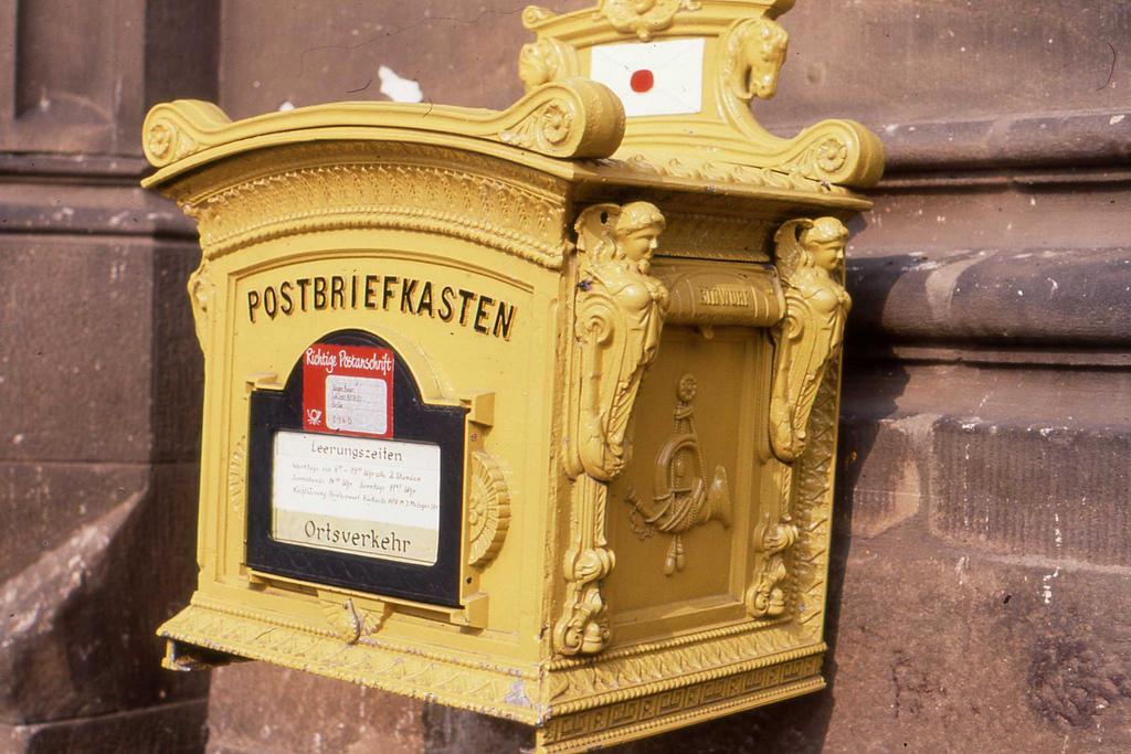 Klasyczna skrzynka pocztowa