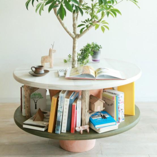 drzewko w stoliku