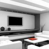 Aranżacja salonu w stylu minimalistycznym