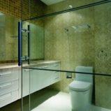 Optyczne powiększenie łazienki